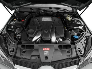 2015 Mercedes-Benz E-Class Pictures E-Class Coupe 2D E550 V8 Turbo photos engine
