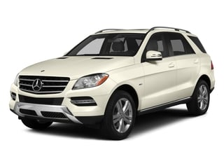 2015 Mercedes-Benz M-Class Pictures M-Class Utility 4D ML350 2WD V6 photos side front view