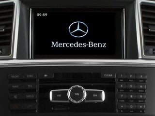 2015 Mercedes-Benz M-Class Pictures M-Class Utility 4D ML350 AWD V6 photos navigation system
