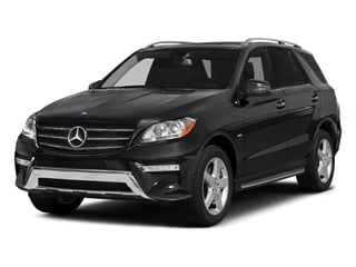 2015 Mercedes-Benz M-Class Pictures M-Class Utility 4D ML400 AWD V6 Turbo photos side front view