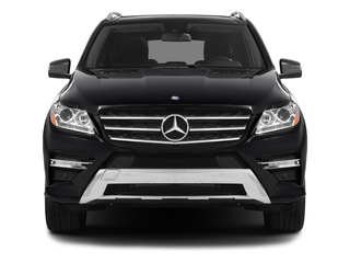 2015 Mercedes-Benz M-Class Pictures M-Class Utility 4D ML400 AWD V6 Turbo photos front view