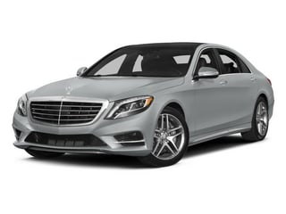 2015 Mercedes-Benz S-Class Pictures S-Class Sedan 4D S550 AWD V8 photos side front view