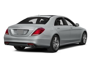 2015 Mercedes-Benz S-Class Pictures S-Class Sedan 4D S550 AWD V8 photos side rear view