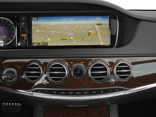 2015 Mercedes-Benz S-Class Pictures S-Class Sedan 4D S550 V8 photos stereo system