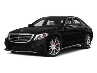 2015 Mercedes-Benz S-Class Pictures S-Class Sedan 4D S63 AMG AWD V8 Turbo photos side front view