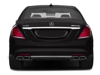 2015 Mercedes-Benz S-Class Pictures S-Class Sedan 4D S63 AMG AWD V8 Turbo photos rear view