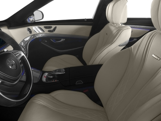 2015 Mercedes-Benz S-Class Pictures S-Class Sedan 4D S63 AMG AWD V8 Turbo photos front seat interior