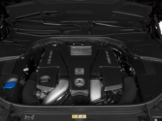 2015 Mercedes-Benz S-Class Pictures S-Class Sedan 4D S63 AMG AWD V8 Turbo photos engine
