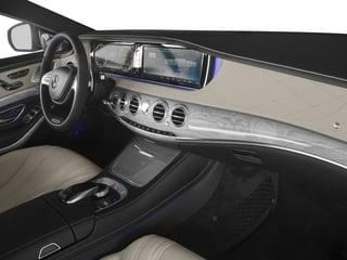 2015 Mercedes-Benz S-Class Pictures S-Class Sedan 4D S63 AMG AWD V8 Turbo photos passenger's dashboard