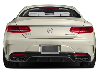 2015 Mercedes-Benz S-Class Pictures S-Class Coupe 2D S63 AMG AWD V8 Turbo photos rear view