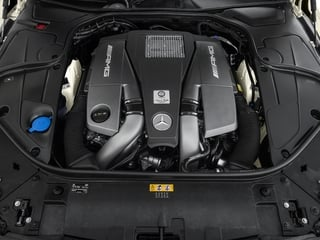 2015 Mercedes-Benz S-Class Pictures S-Class Coupe 2D S63 AMG AWD V8 Turbo photos engine