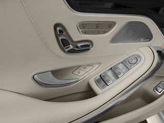 2015 Mercedes-Benz S-Class Pictures S-Class Coupe 2D S63 AMG AWD V8 Turbo photos driver's side interior controls