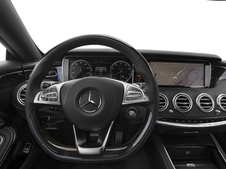 2015 Mercedes-Benz S-Class Pictures S-Class Coupe 2D S550 AWD V8 Turbo photos driver's dashboard