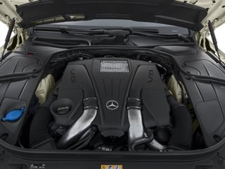 2015 Mercedes-Benz S-Class Pictures S-Class Coupe 2D S550 AWD V8 Turbo photos engine