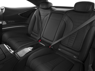 2015 Mercedes-Benz S-Class Pictures S-Class Coupe 2D S550 AWD V8 Turbo photos backseat interior