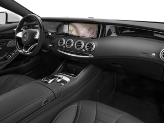 2015 Mercedes-Benz S-Class Pictures S-Class Coupe 2D S550 AWD V8 Turbo photos passenger's dashboard