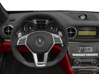 2015 Mercedes-Benz SL-Class Pictures SL-Class Roadster 2D SL63 AMG V8 Turbo photos driver's dashboard