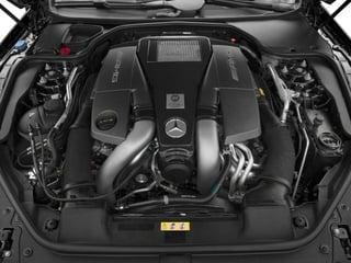 2015 Mercedes-Benz SL-Class Pictures SL-Class Roadster 2D SL63 AMG V8 Turbo photos engine