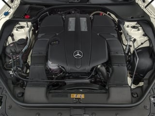 2015 Mercedes-Benz SL-Class Pictures SL-Class Roadster 2D SL400 V6 Turbo photos engine