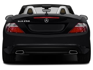 2015 Mercedes-Benz SLK-Class Pictures SLK-Class Roadster 2D SLK250 I4 Turbo photos rear view