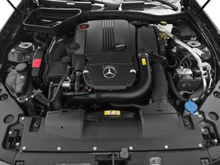2015 Mercedes-Benz SLK-Class Pictures SLK-Class Roadster 2D SLK250 I4 Turbo photos engine