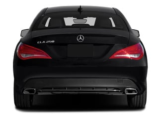 2015 Mercedes-Benz CLA-Class Pictures CLA-Class Sedan 4D CLA250 AWD I4 Turbo photos rear view