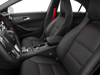 2015 Mercedes-Benz CLA-Class Pictures CLA-Class Sedan 4D CLA45 AMG AWD I4 Turbo photos front seat interior