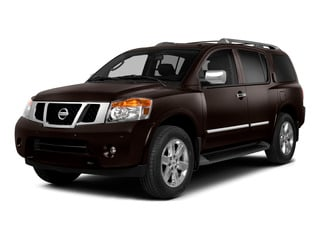 2015 Nissan Armada Pictures Armada Utility 4D Platinum Reserve 4WD V8 photos side front view