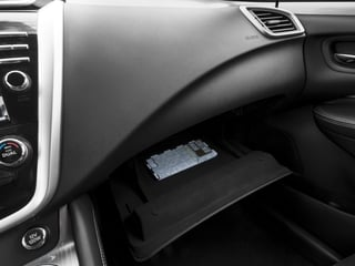 2015 Nissan Murano Pictures Murano Utility 4D S 2WD V6 photos glove box