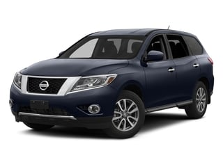 2015 Nissan Pathfinder Pictures Pathfinder Utility 4D S 4WD V6 photos side front view