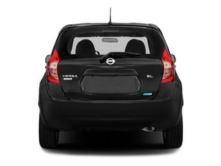 2015 Nissan Versa Note Pictures Versa Note Hatchback 5D Note S Plus I4 photos rear view