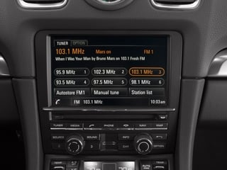 2015 Porsche Cayman Pictures Cayman Coupe 2D GTS H6 photos stereo system
