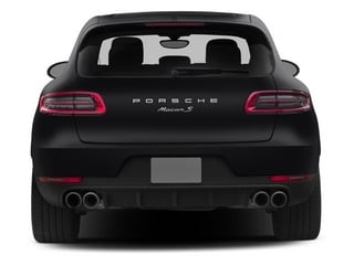 2015 Porsche Macan Pictures Macan Utility 4D AWD V6 Turbo photos rear view