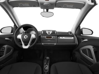 2015 smart fortwo Pictures fortwo Convertible 2D Passion I3 photos full dashboard