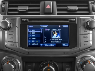 2015 Toyota 4Runner Pictures 4Runner Utility 4D Trail Edition 4WD V6 photos stereo system