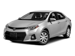 2015 Toyota Corolla Pictures Corolla Sedan 4D L I4 photos side front view