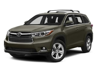 2015 Toyota Highlander Pictures Highlander Utility 4D LE 2WD I4 photos side front view