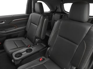 2015 Toyota Highlander Pictures Highlander Utility 4D LE 2WD I4 photos backseat interior