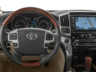 2015 Toyota Land Cruiser Pictures Land Cruiser Utility 4D 4WD V8 photos driver's dashboard