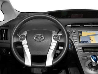 2015 Toyota Prius Pictures Prius Liftback 5D Five I4 Hybrid photos driver's dashboard
