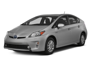 2015 Toyota Prius Plug-In Pictures Prius Plug-In Liftback 5D Plug-In I4 Hybrid photos side front view
