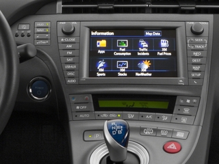2015 Toyota Prius Plug-In Pictures Prius Plug-In Liftback 5D Plug-In I4 Hybrid photos stereo system