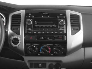 2015 Toyota Tacoma Pictures Tacoma Base Access Cab 4WD V6 photos stereo system