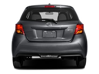 2015 Toyota Yaris Pictures Yaris Hatchback 3D LE I4 photos rear view