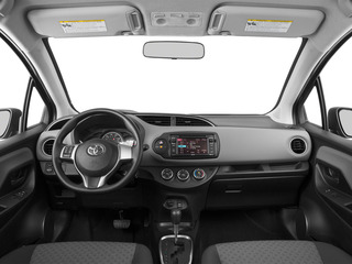 2015 Toyota Yaris Pictures Yaris Hatchback 3D LE I4 photos full dashboard