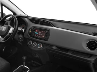 2015 Toyota Yaris Pictures Yaris Hatchback 3D LE I4 photos passenger's dashboard