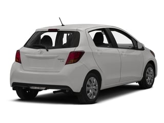 2015 Toyota Yaris Pictures Yaris Hatchback 5D SE I4 photos side rear view