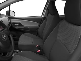 2015 Toyota Yaris Pictures Yaris Hatchback 5D SE I4 photos front seat interior