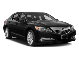 2016 Acura RLX Pictures RLX Sedan 4D Advance AWD V6 Hybrid photos side front view