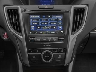 2016 Acura TLX Pictures TLX Sedan 4D Technology I4 photos stereo system